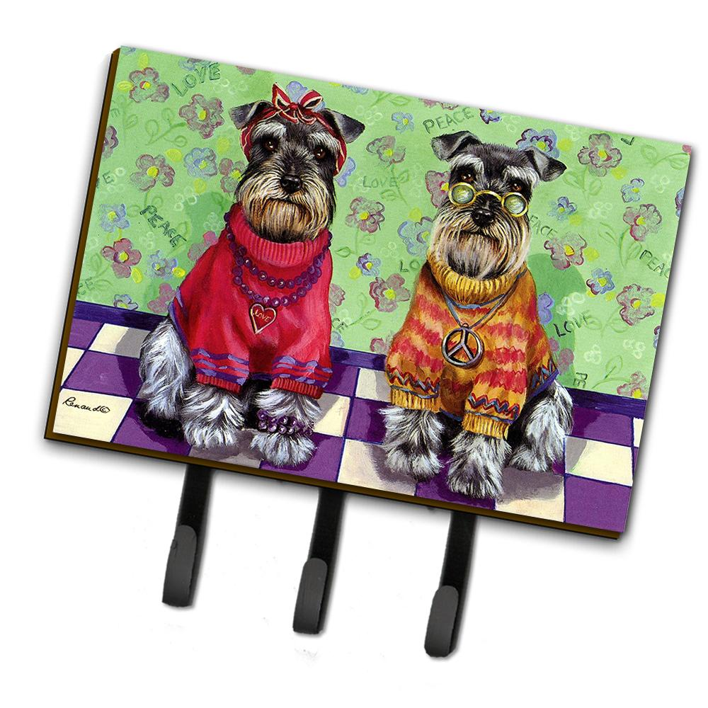 Buy this Schnauzer Love and Peace Leash or Key Holder PPP3333TH68