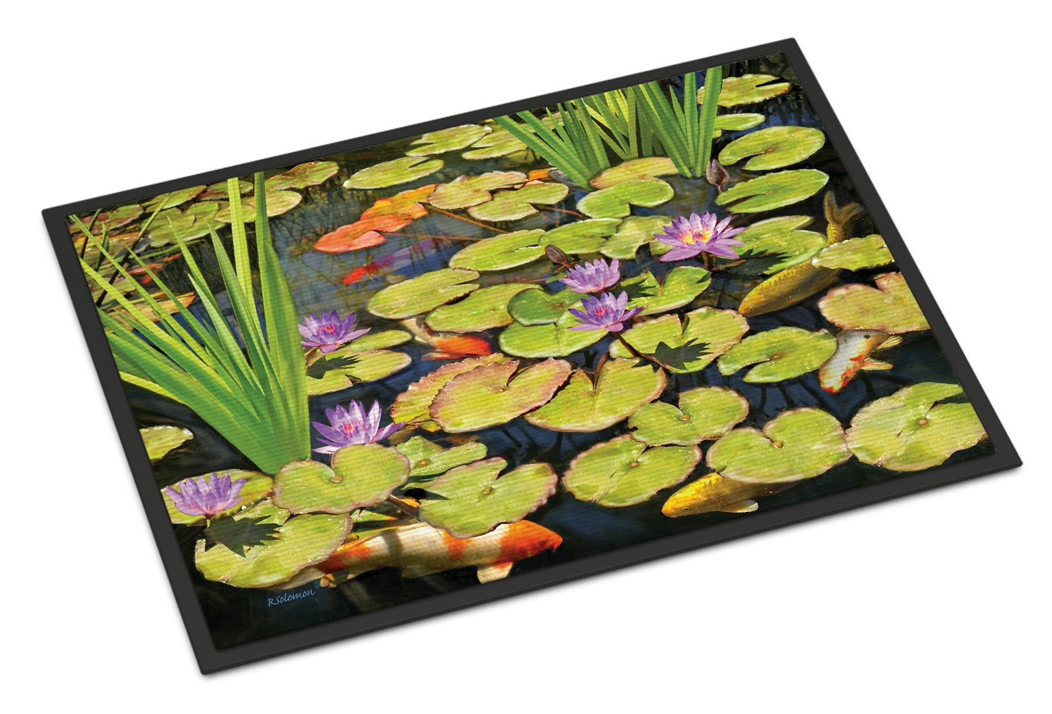 Koi Pond II Indoor or Outdoor Mat 24x36 PRS4050JMAT by Caroline's Treasures