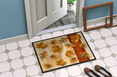 Fall Autumn Leaves Indoor or Outdoor Mat 24x36 PTW2001JMAT