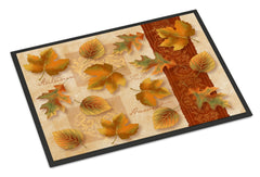 Buy this Fall Autumn Leaves Indoor or Outdoor Mat 24x36 PTW2001JMAT