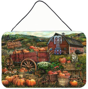 Buy this Pumpkin Patch and Fall Farm Wall or Door Hanging Prints PTW2008DS812