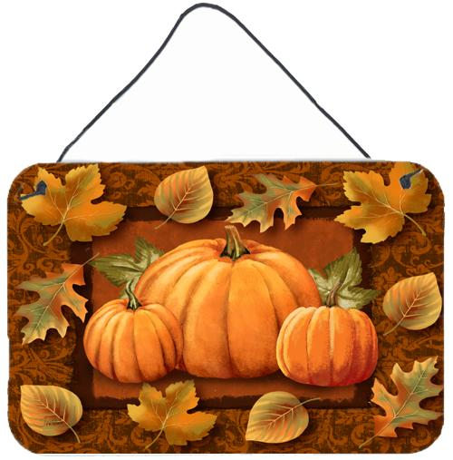 Buy this Pumpkins and Fall Leaves Wall or Door Hanging Prints PTW2009DS812