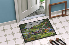 Summer in Small Town USA Indoor or Outdoor Mat 24x36 PTW2012JMAT