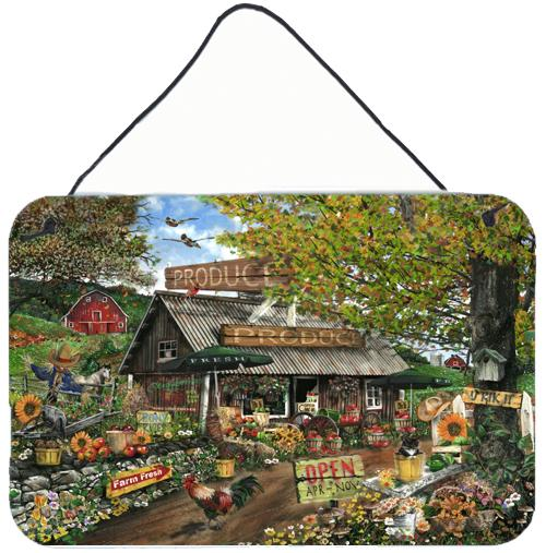 The Produce Fruit Stand Wall or Door Hanging Prints by Caroline's Treasures