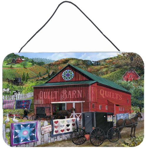 The Quilt Barn Wall or Door Hanging Prints by Caroline's Treasures