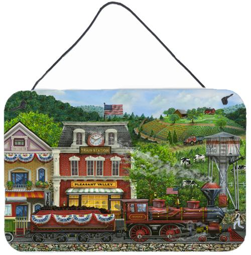 Buy this Railroad Train Next Stop Pleasant Valley Wall or Door Hanging Prints