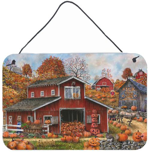 Pick your Own Pumpkins Fall Wall or Door Hanging Prints by Caroline's Treasures