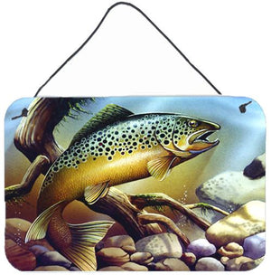 Buy this Brook Trout Wall or Door Hanging Prints PTW2038DS812