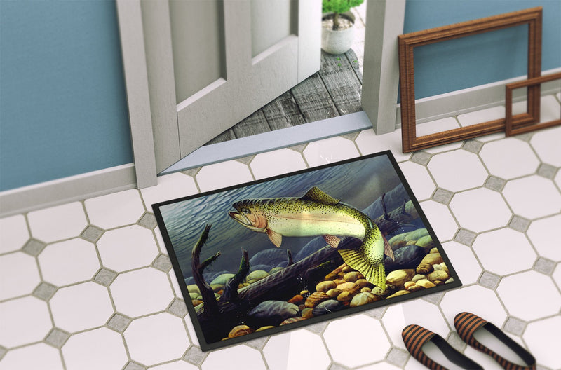 Buy this Rainbow Trout Indoor or Outdoor Mat 24x36 PTW2039JMAT