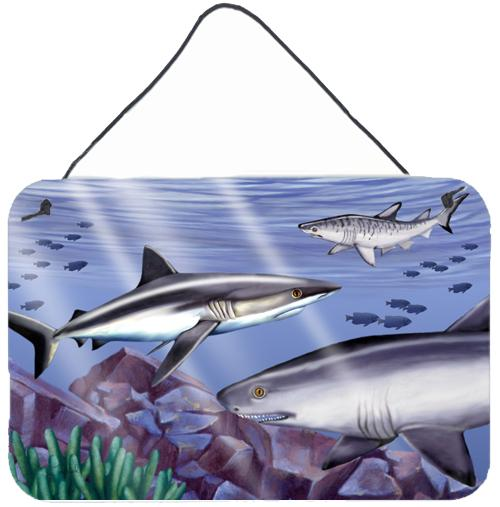 Buy this Sharks Wall or Door Hanging Prints PTW2043DS812