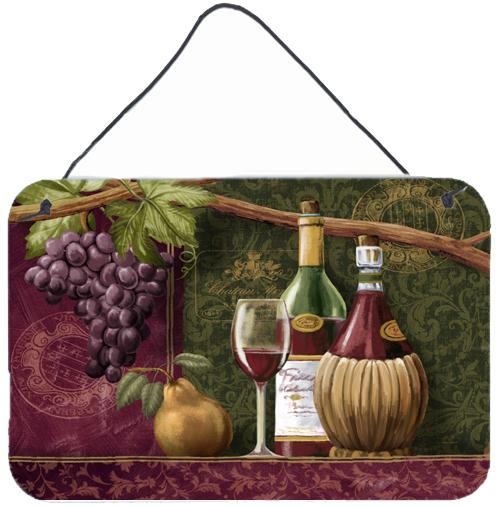 Wine Chateau Roma Wall or Door Hanging Prints PTW2044DS812 by Caroline's Treasures