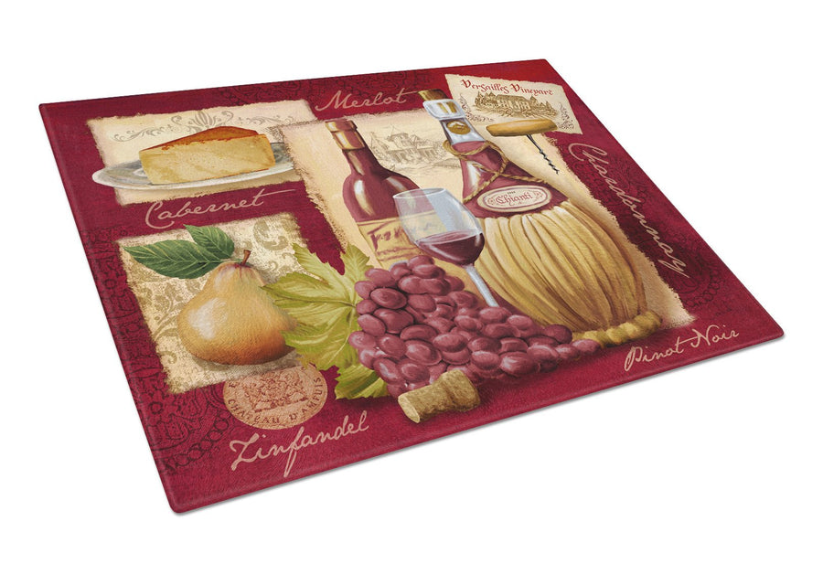 Buy this Wine and Cheese Glass Cutting Board Large PTW2046LCB