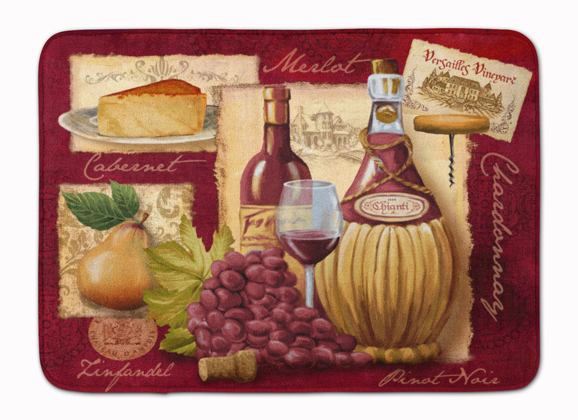 Buy this Wine and Cheese Machine Washable Memory Foam Mat PTW2046RUG
