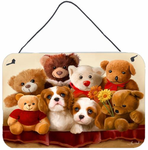 Buy this Cavalier Spaniel Friends Forever Wall or Door Hanging Prints PTW2050DS812