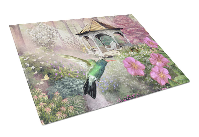 Buy this Garden Gazebo Hummingbird Glass Cutting Board Large PTW2052LCB