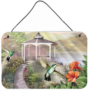Buy this Garden Gazebo Hummingbird Duo Wall or Door Hanging Prints PTW2053DS812
