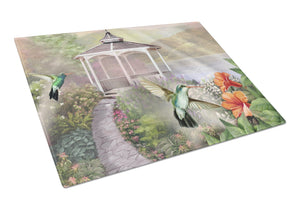 Buy this Garden Gazebo Hummingbird Duo Glass Cutting Board Large PTW2053LCB
