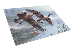 Buy this Geese on the Wing Glass Cutting Board Large PTW2054LCB