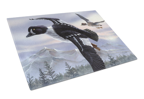 Buy this Goldeneye Ducks Flying Glass Cutting Board Large PTW2055LCB