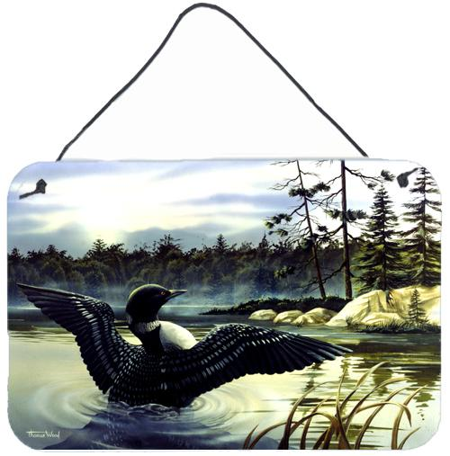 Loon Country Wall or Door Hanging Prints PTW2059DS812 by Caroline's Treasures