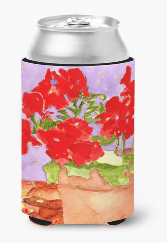 Buy this Flower - Geranium Can or Bottle Beverage Insulator Hugger