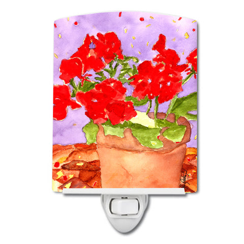 Buy this Flower - Geranium Ceramic Night Light RDR2004CNL