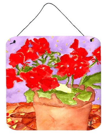 Buy this Flower - Geranium Aluminium Metal Wall or Door Hanging Prints