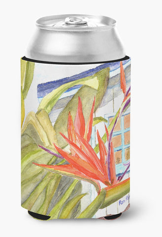 Buy this Flower - Bird of Paradise Can or Bottle Beverage Insulator Hugger