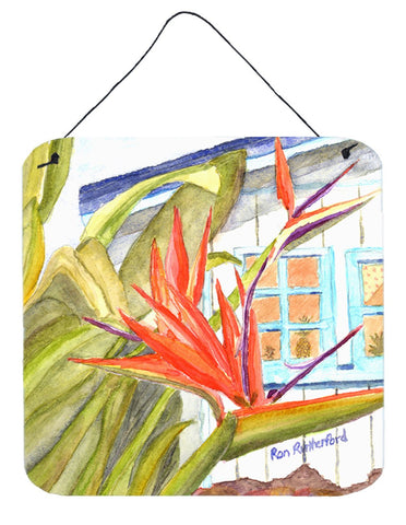 Buy this Flower - Bird of Paradise Aluminium Metal Wall or Door Hanging Prints