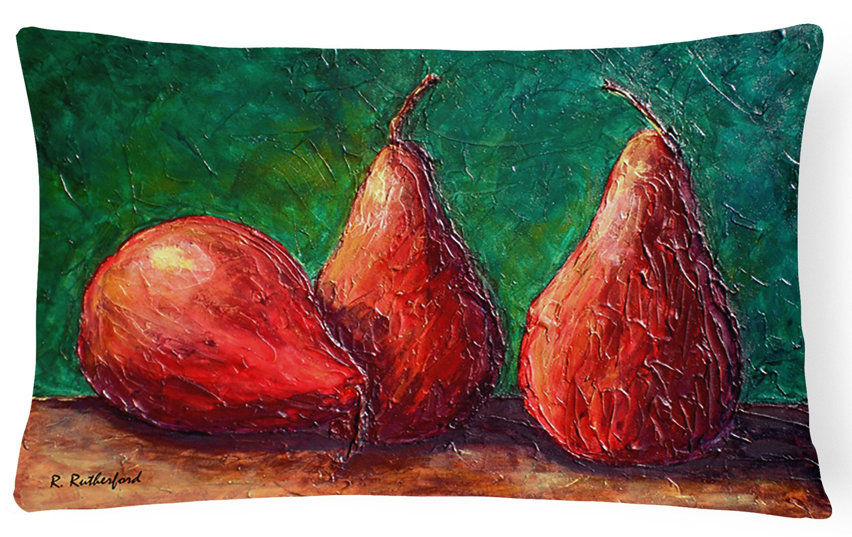 Buy this Pears   Canvas Fabric Decorative Pillow
