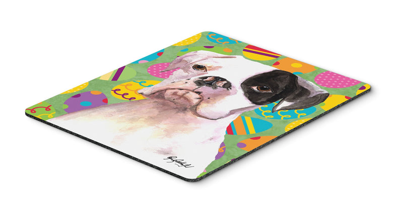 Cooper Eggravaganza Boxer Easter Mouse Pad, Hot Pad or Trivet - the-store.com