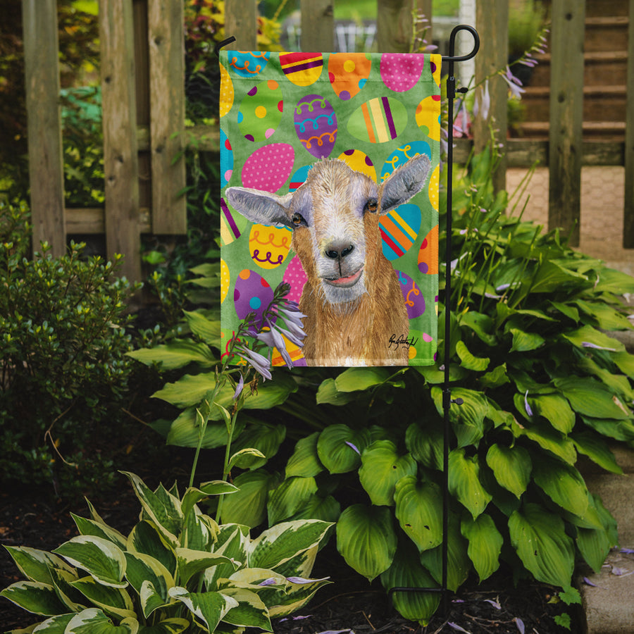 Buy this Eggtravaganza Goat Easter Flag Garden Size RDR3021GF