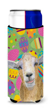 Eggtravaganza Goat Easter Ultra Beverage Insulators for slim cans  RDR3021MUK by Caroline's Treasures