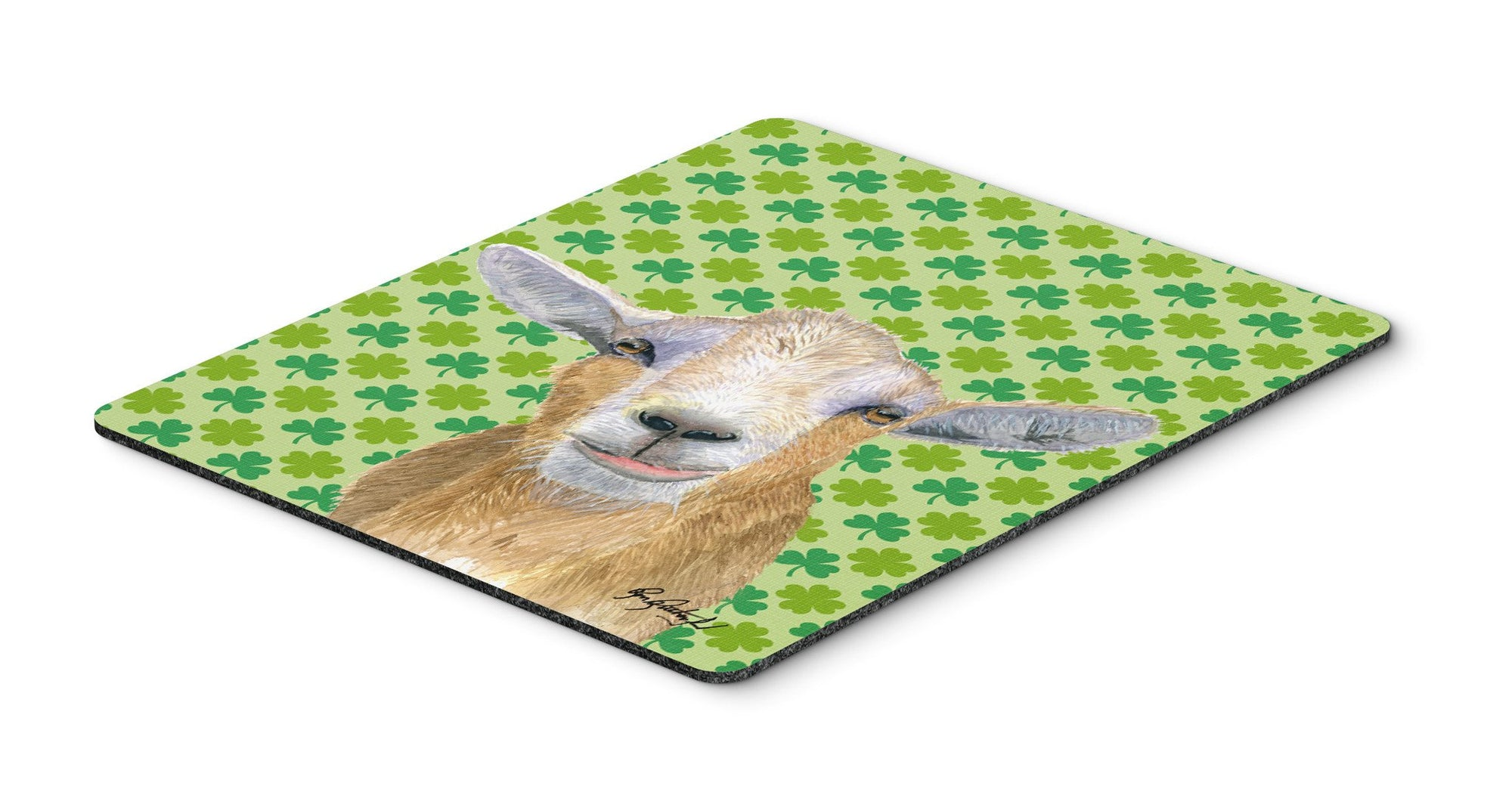 St Patrick's Day Goat Mouse Pad, Hot Pad or Trivet by Caroline's Treasures