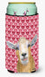 Hearts and Love Goat Tall Boy Beverage Insulator Beverage Insulator Hugger RDR3026TBC by Caroline's Treasures