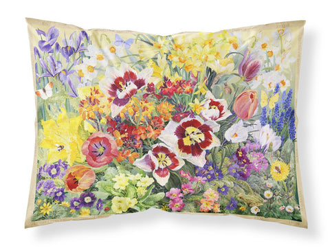 Buy this Spring Floral by Anne Searle Fabric Standard Pillowcase SASE0954PILLOWCASE