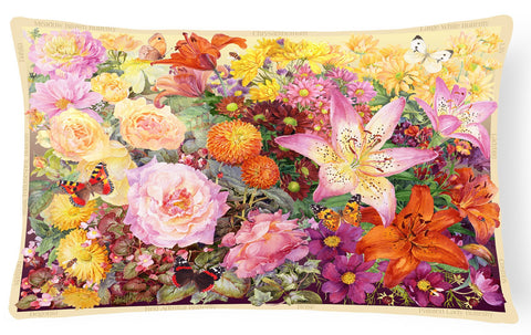 Buy this Autumn Floral by Anne Searle Fabric Decorative Pillow SASE0955PW1216