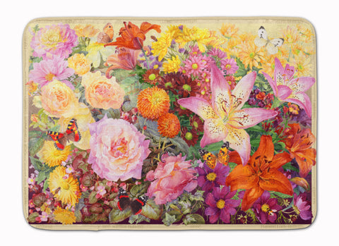 Buy this Autumn Floral by Anne Searle Machine Washable Memory Foam Mat SASE0955RUG