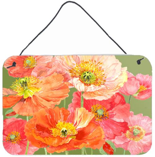 Poppies by Anne Searle Wall or Door Hanging Prints by Caroline's Treasures