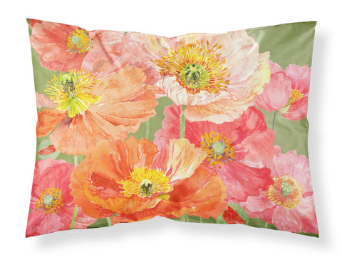 Buy this Poppies by Anne Searle Fabric Standard Pillowcase SASE664CPILLOWCASE