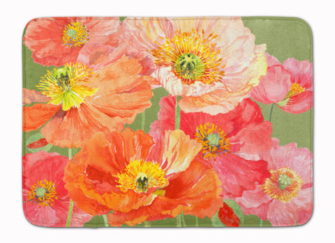 Buy this Poppies by Anne Searle Machine Washable Memory Foam Mat SASE664CRUG