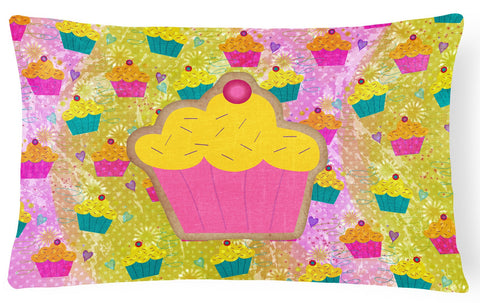 Buy this Cupcake   Canvas Fabric Decorative Pillow