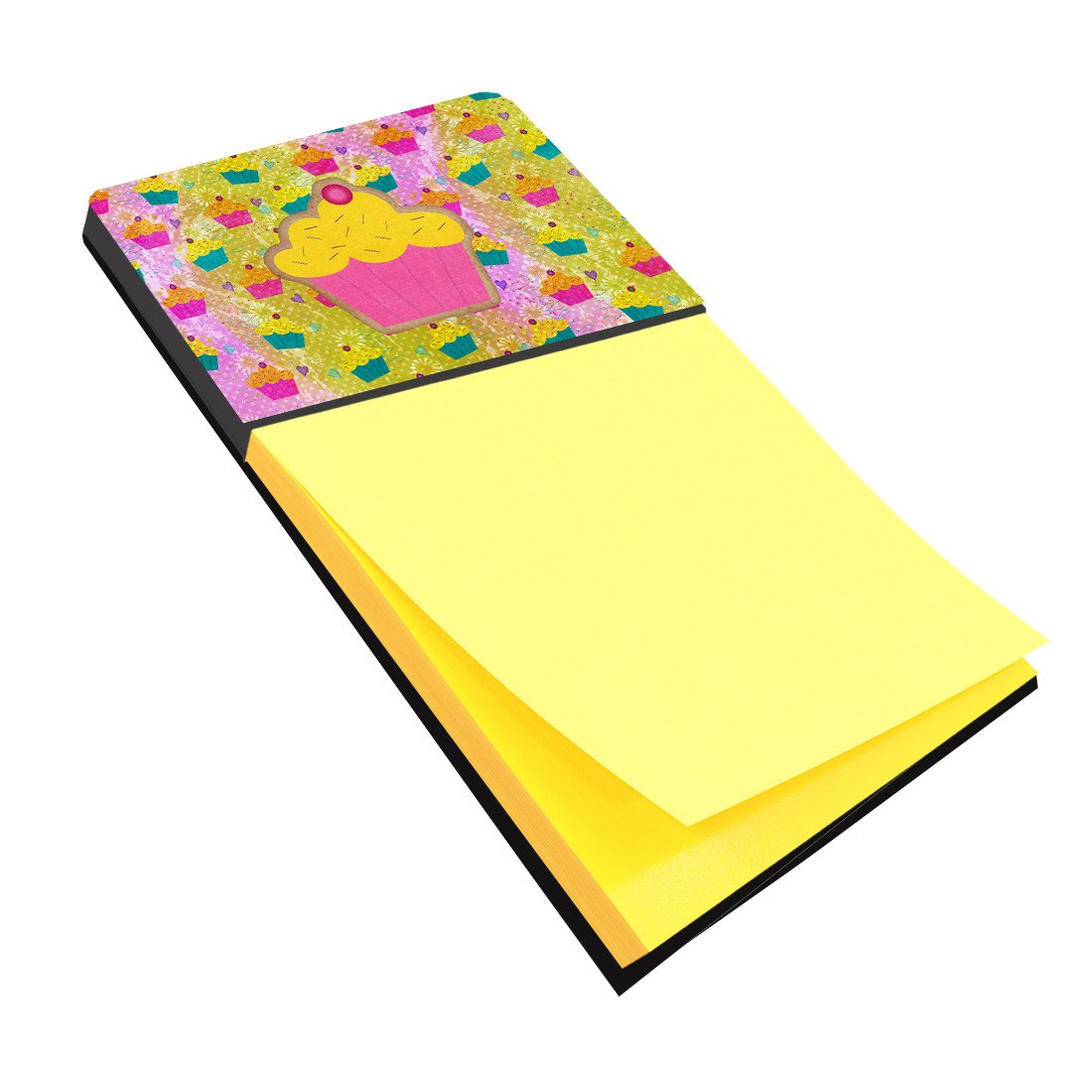 Cupcake Refiillable Sticky Note Holder or Postit Note Dispenser SB3003SN by Caroline's Treasures