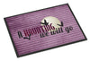 A Haunting we will go Halloween Indoor or Outdoor Mat 24x36 Doormat - the-store.com