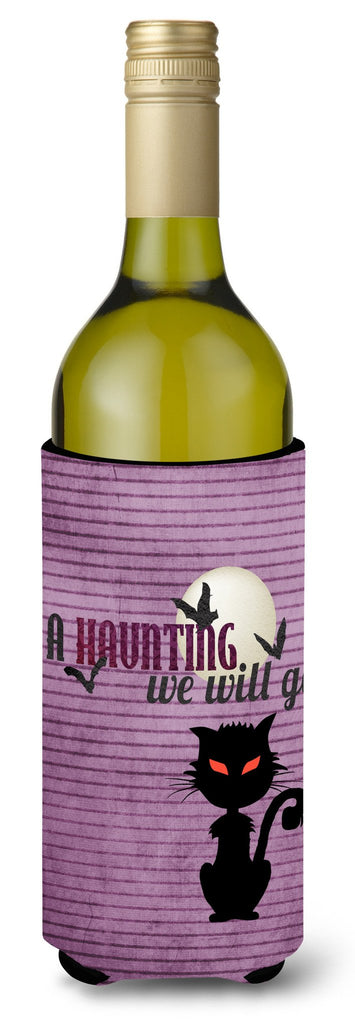 Buy this A Haunting we will go Halloween Wine Bottle Beverage Insulator Beverage Insulator Hugger