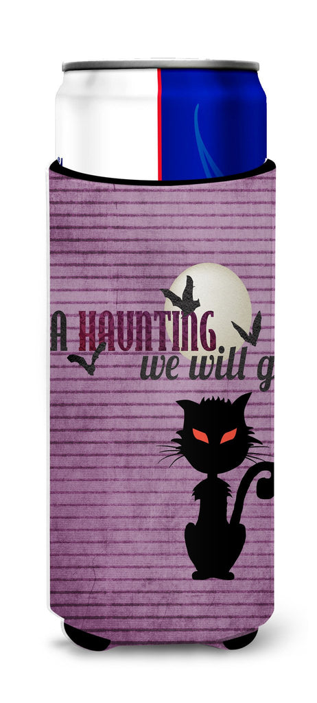 Buy this A Haunting we will go Halloween Ultra Beverage Insulators for slim cans SB3015MUK