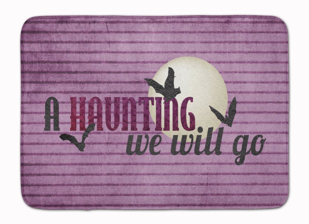 Buy this A Haunting we will go Halloween Machine Washable Memory Foam Mat SB3015RUG