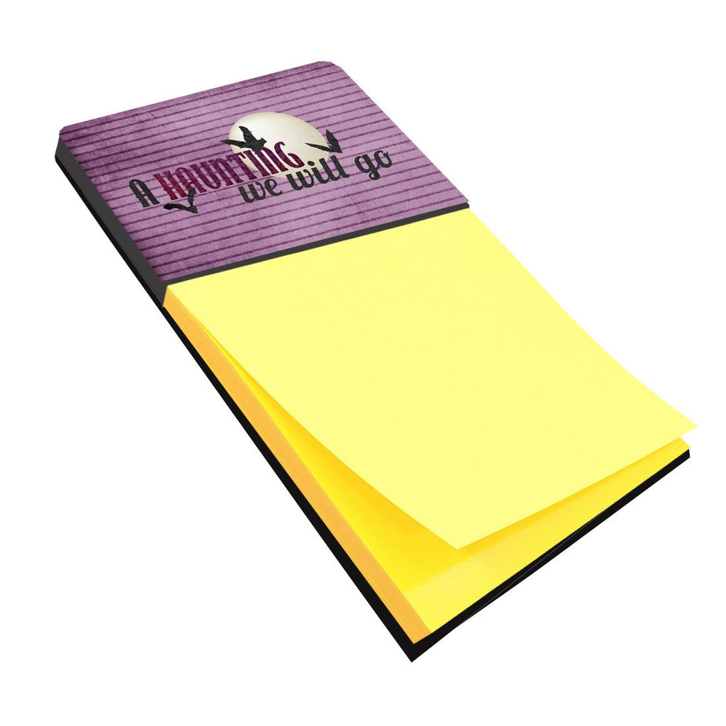 Buy this A Haunting we will go Halloween Refiillable Sticky Note Holder or Postit Note Dispenser SB3015SN