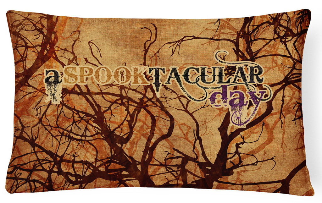 Buy this A Spook Tacular Day Halloween   Canvas Fabric Decorative Pillow