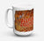 Buy this Jeepers Creepers with Bat and Spider web Halloween Dishwasher Safe Microwavable Ceramic Coffee Mug 15 ounce SB3018CM15